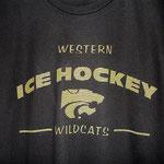 Western Ice Hockey screen print