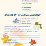 Church event flyer