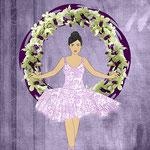 Ballerina Orchid Wreath