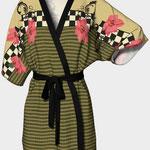 Poinsettia Kimono Front