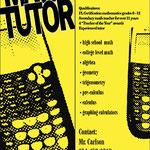 Math tutor book mark