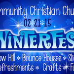 Winterfest graphics for Community Christian Church