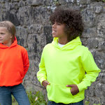Kinder Hoodie neon Farben