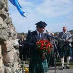 Clan Spokesman representing CLAN MACLEAN