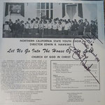 "Original LP ""Let Us Go Into The House Of The Lord"" from Northern California State Youth Choir (Mercury Records, only 500 copies made!)"
