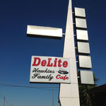 The Hawkins Family DeLite Cafe (closed in 2012)