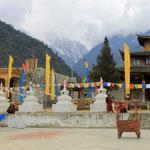 das Kloster wird erweitert