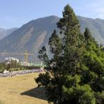 Aussicht von der Laimao Highschool