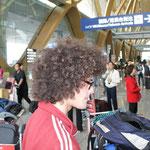 Landfried hat die Haare schön