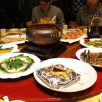 Begrüßungs-Essen in Kunming