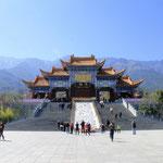sehr schöne Tempelanlage