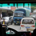 Nujiang-Verkehr