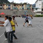 Basketball gegen Chinesen