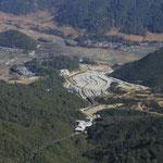 touristische Anlage im Tal