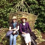 Zwei Amerikanerinnen in Unkel - 06.05.2013