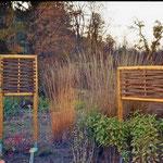 Flechtobjekte an Bodendeckerpflanzen