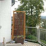 Blickfänger auf einem Balkon in Koblenz