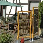 Blickfänger Sonderanferigung für eine Terrasse in Wipperfürth