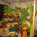Marktstand Südamerika