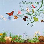 Wunder der Natur, Wandgemälde für Kinder