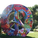 3D Peacezeichen