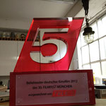 Design & Bau des Tele 5 Award aus Plexiglas