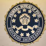 handgemaltes Logo für Shocking Short Award