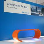 Bau einer Bank für die BayernLB