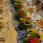 Bayrische Tischdeko