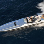 Farbdesign für ein NorTech-Boot