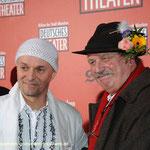 Mit Parketthändler Jens Krumpholz zur Gala Eröffnung Deutsches Theater Foto : ganz-muenchen.de