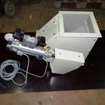 Klappenkasten 2-fach pneumatisch asymetrisch