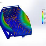 チップコンテナ 設計 CAE 解析 有限要素法 変位 応力