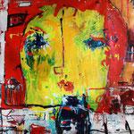 Retrato Amarillo. 170x180cms  2012