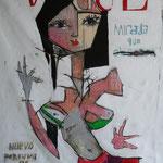Vogue. 140x120cms 2010