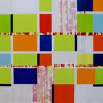 o.T., 2019, 130 x 150 cm, Acryl auf Baumwollnessel