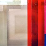 St. Wendel, Frankfurt a.M. 2007-2009, rotes Nordfenster, Detail, Foto: Celia Mendoza