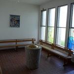 St. Apollinaris, Wermleskirchen, Taufraum vor der Renovierung 2014; Foto: Celia Mendoza
