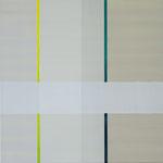 o.T., 2009, 40 x 40 cm, Acryl auf Baumwollnessel