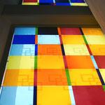 St. Bonifazius/Hamm, Detailansicht, 2012,  Foto: Celia Mendoza Ausführung: Derix Glasstudiios Taunusstein