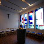 St. Apollinaris, Wermelskirchen/NRW:  Neugestaltung des Taufraums 2017; Foto: Architekturbüro Standop, Köln 2017