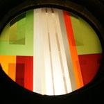 Evanglische Kirche Riebelsdorf, 2008, Turmfenster Außenansicht, Foto: Celia Mendoza