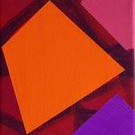 o.T., 2020, 20 x 20 cm, Acryl auf Baumwollnessel