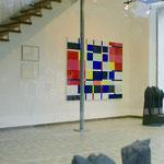 Ausstellung im Glasbau , Pfarrkirchen 2018 zusammen mit Hilde Seyboth und Friedrich Pröls