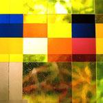 St. Wendel, Frankfurt/a.M., 2007-2009, gelbes Ostfenster, Detail, Foto: Celia Mendoza