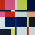 o.T., 2014, 85 x 95 cm, Acryl auf Baumwollnessel