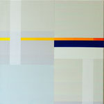 o.T., 2009, 50 x 50 cm, Acryl auf Baumwollnessel