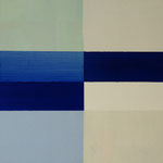 o.T., 2012, 30 x 30 cm, Acryl auf Holz