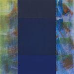 o.T., 2013, 30 x 30 cm, Acryl auf Holz