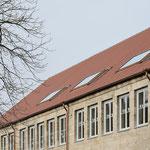 Laiblinschule Pfullingen, mit horizontalen Dachfenster-Bändern